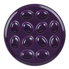 Fiesta® Egg Serving Tray | Mulberry