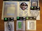 Making Memories Scrapbooking Lot Frames Tags Corners and Eyelet Charms