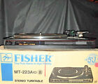 Fisher MT 223A  High Fidelity Stereo Turntable New
