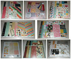 Huge Scrapbook Kit Lot Maggie Holmes Basic Grey Bo Bunny My Minds Eye
