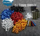 US Fairing bolts screws for Kawasaki Ninja ZX6R ZX10R ZX14R EX250 EX300 ZX9R 12R