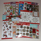 Lot of Christmas Stickers Jolees  Sticko 14 Packs No Duplicates
