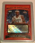 2005-06 Topps Carmelo Anthony Marks of Excellence Auto #ME-CA Nuggets Autograph