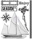 Prima Marketing SEASHORE 1 Clear Stamps 25 x 3 Ship 7pc Mixed Media 572594
