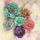 Prima Flowers HELLO PASTEL Paper Flowers Home Decor Planner Tags 565381