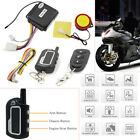 Motorcycle Motorbike 2Way Security Alarm  Anti-theft Remote Control Engine Start