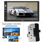 2Din Car MP5 Radio 7Touch Screen Audio Stereo Bluetooth Video Multimedia Player
