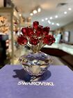 Swarovski Crystal Res Roses 2002 Jubilee Edition 15th Anniversary