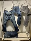 Lot of 11 Pairs of Jeans Diesel Taverniti True Religion Seven Vintage Selvage