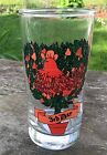Replacement Glass Tumbler Twelve Days of Christmas 3rd Day 12oz 3 French Hens