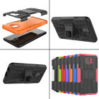 Hybrid Shockproof Heavy Duty Armor Case Cover For Samsung J7 Duo A8 A6 Plus 2018
