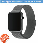 Apple Watch Band SPACE GREY, Flexible Stainless Steel, FREE 2-Piece Adaptor, AU