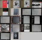 The Watch catalogues: Certina, Blancpain ..., 18 pcs. From $20 to $300