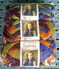 NEW Red Heart Boutique Sashay Ruffle Yarn Disco Package of 3