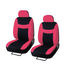 Auto Car Seat Cover Protector Full Set Steering Wheel Coverbelt Padhead Rests