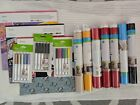 Cricut Vinyl Lot and disney paper lot and 3 pack pen set