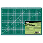 12 x 18 GREEN BLACK Self Healing 5 Ply Double Sided Durable PVC Cutting Mat