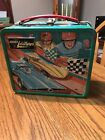 Vintage 1970 Lunch Box JOHNNY LIGHTNING NO THERMOS No Handle 3923