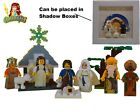 Custom Print LEGO minifigure Nativity Set Holly Family Angel Wisemen 50 parts