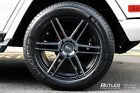 22 TSW Autograph Black Machined Wheels Mercedes Benz G Class G Wagon G63 5x130