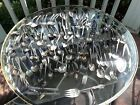 VINTAGE MIXED SILVERWARE FLATWARE SILVER PLATE LOT 100+ PIECES
