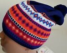 VINTAGE CONTE OF FLORENCE HAT BEANIE WOOL WINTER PURPLE Multicolor Crazy Style