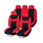 Auto Seat Covers Full Set For Car Sedan Truck Van Universal Seat Cover Protector