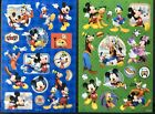 Mickey Mouse Stickers Disney Donald Duck 2 Sheets Free Ship Stocking Stuffer