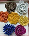 Cutting Dies Flowers border for Cards and Stamps stencil Scrapbooking craft DIY
