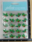 Jolees Christmas CHRISTMAS HOLLY REPEATS Boutique Stickers