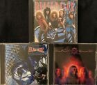 Bllack N Blue- S/T, Without Love, In Heat (3 CD Lot) , Britny Fox, Kingdom Come