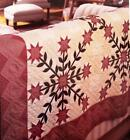 CHRISTMAS BLOSSOMS Quilt Pattern Piecing  Applique from Magazine