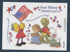 Suzy Zoo Stickers Suzy with Flag God Bless America