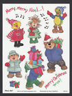 Suzy Zoo Stickers Merry Merry Gang Caroling and Carry Christmas Presents