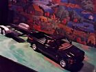 124 Scale Diecast 2 pcset1992Black Chevy 454 SS Pickup w hitch