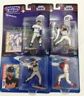 Lot of 4 Starting Lineup Action Figures Nomar Deion Sanders Clemens Alomar 99 97