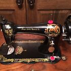 Antique 1888 Singer Sewing Machine Fiddlebase BUTTERFLY - RARE!