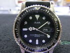 Pre Owned Vintage Japan Made SEIKO ALBA MENS 150M SS Diver Watch