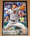 Tim Lincecum 2015 Topps Series 1 Black 10x14 Wall Art 1 5 San Francisco Giants