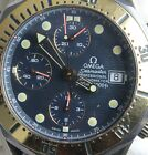 OMEGA Seamaster Titane Professional Chrono Blue Dial Watch with Box and Papers