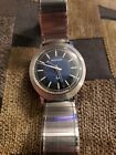 Bulova Accutron 214 Vintage 1971 (N1) S.S. Watch with Rare Case Style