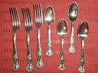 SPOONS  GRAPE DESIGN XS TRIPLE E letter (Lot of 7)
