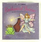 Enchanted Fairies Rubber Stamp Set 10 Stamps Purple Ink Pad All Night Media