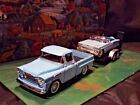 124 Scale Diecast 3 piece Matched Set1958 Chevy Pickup 1958 Impala
