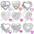 Heart Shape Cutting Dies Stencil DIY Scrapbooking Album Paper Card Embossing