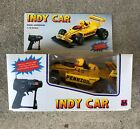 Vintage Indy Car 1:18 Scale RC Remote Controlled new in box NOS RARE Pennzoil