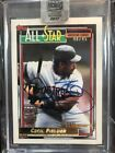 Cecil Fielder 2017 Archives Signatures Post Season Auto 40 45 Tigers 1992 Topps
