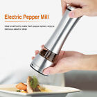 Electric Salt  Pepper Mill Set Grinder Shaker Stainless Steel Kitchen Tool
