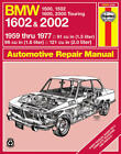 Bmw 1602 & 2002 Haynes Service Repair Shop Manual Book 1959 Thru 1977