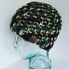 HANDMADE Crochet Knit Textured Ribbed Beanie Hat, PICK YOUR COLOR, Custom made